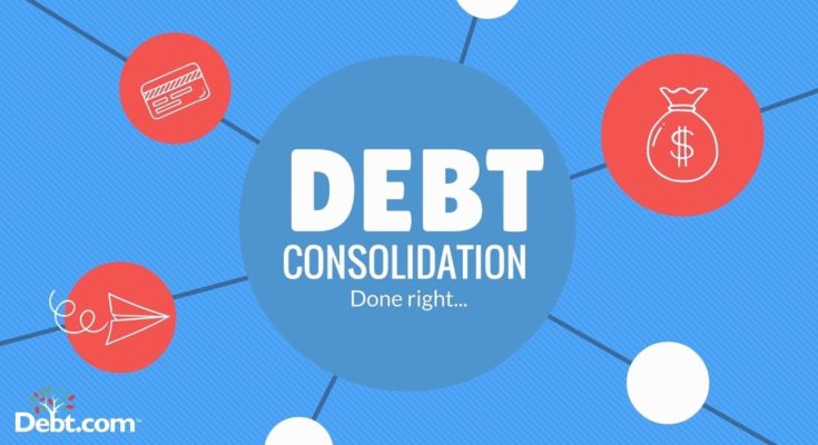 Debt Consolidation Before the Situation Gets Out of Control